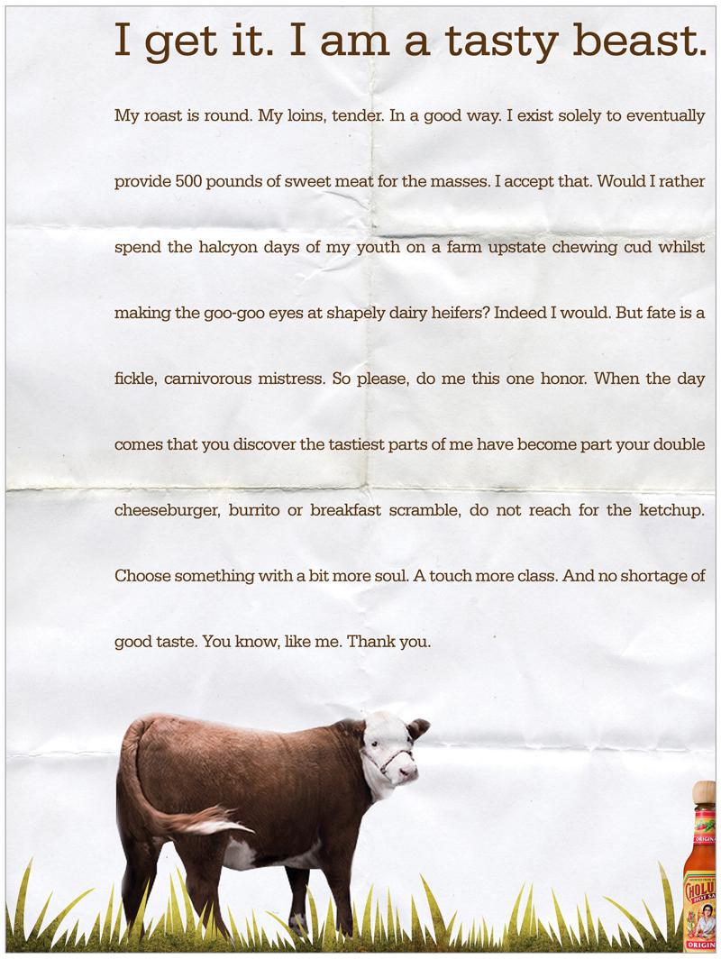 Cholula Cow