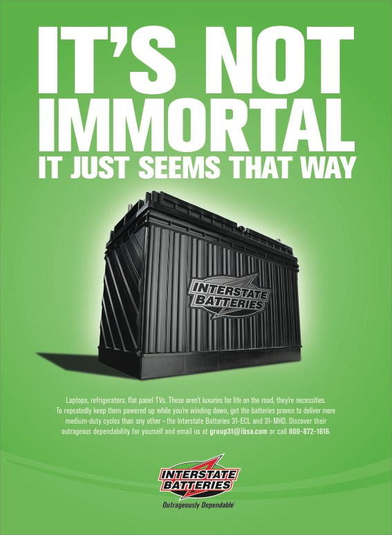 IBS Immortal print ad