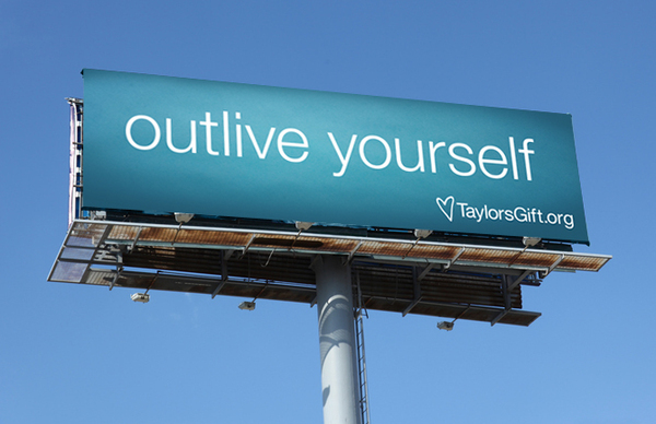 Outlive Yourself billboard