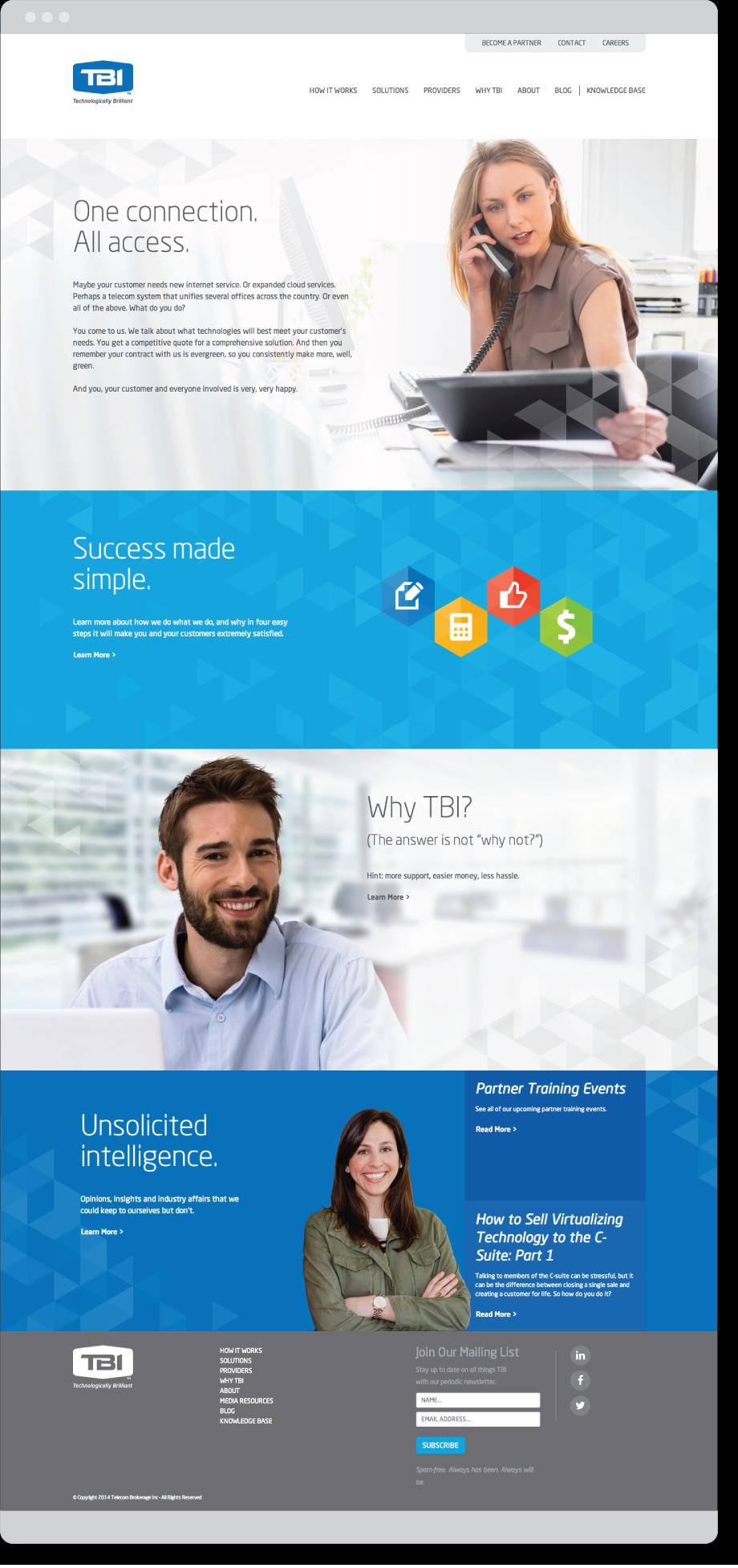 TBI home page