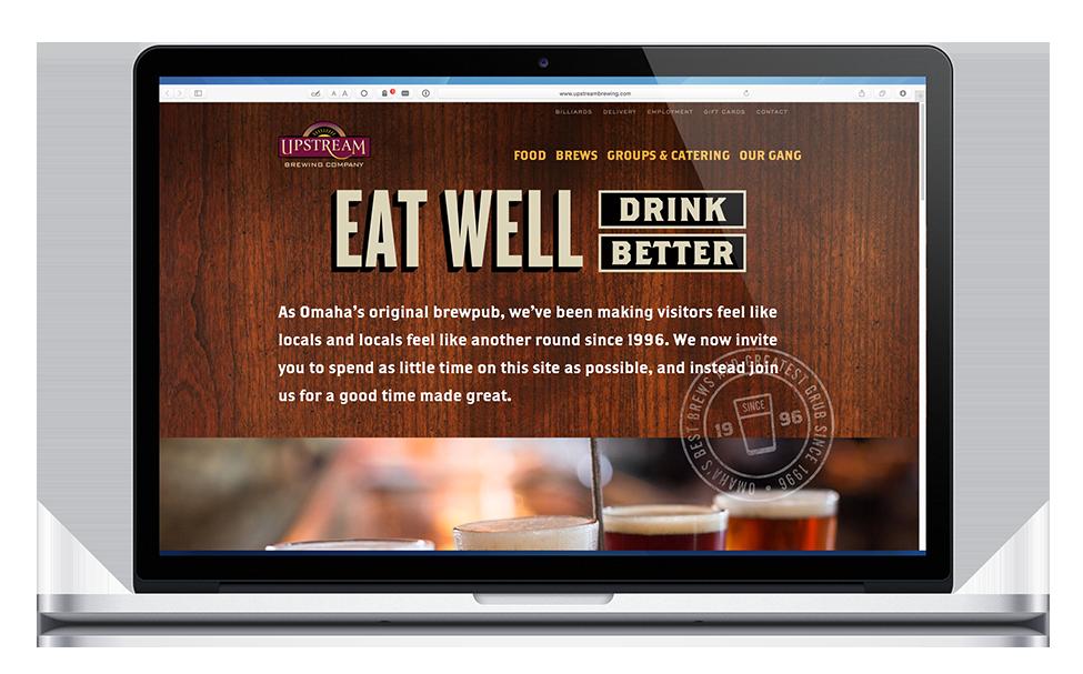 Upstream website